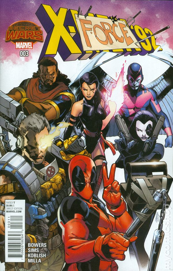 Uncanny x-force #17 written by rick remender penciled by jerome