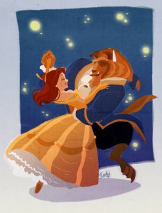 Disney Beauty and the BEast (Vpdessin)