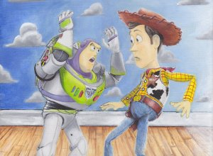 Disney Toy Story (Sketch-MOneky)