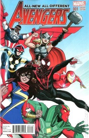 All New Avengers #1B