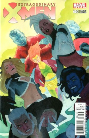 Extraodinary X-Men #2C