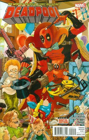 Deadpool #2A