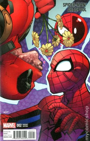 Spiderman Deadpool #2C