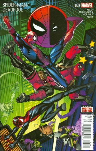 Spiderman Deadpool #2A