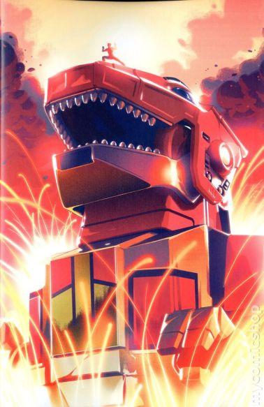 Mighty Morphin Power Rangers #1B
