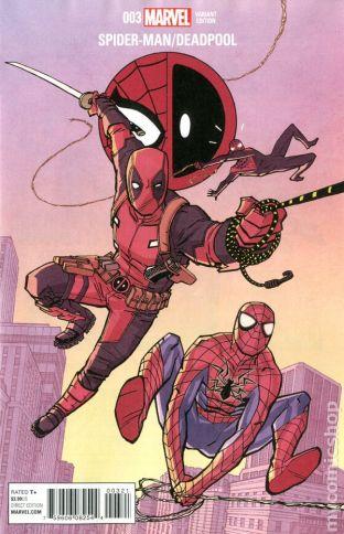 Spider-Man / Deadpool #3B
