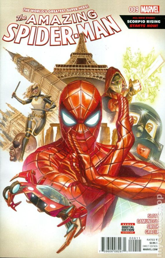 The Amazing Spider-Man #9A