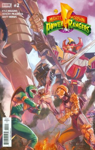 Power Rangers #2A