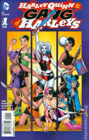 HQ and her Gang of Harleys #1A