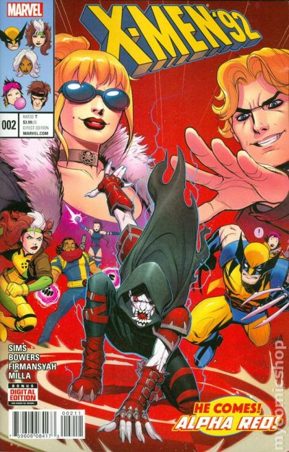 X-Men '92 #2A