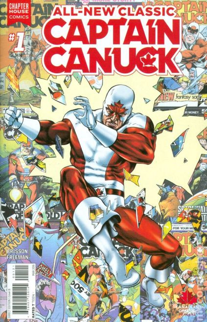 Classic Captain Canuck #1B