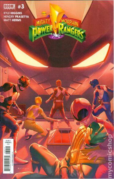 Power Rangers #3A