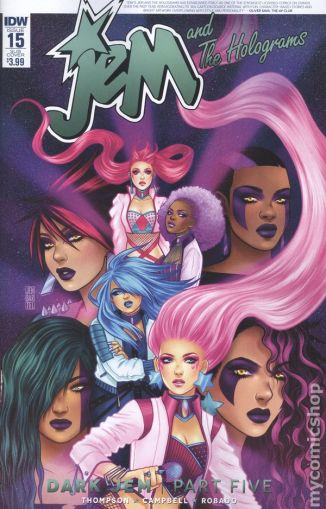 Jem and the Holograms #15B