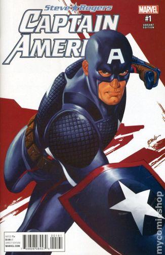 Captain America #1B