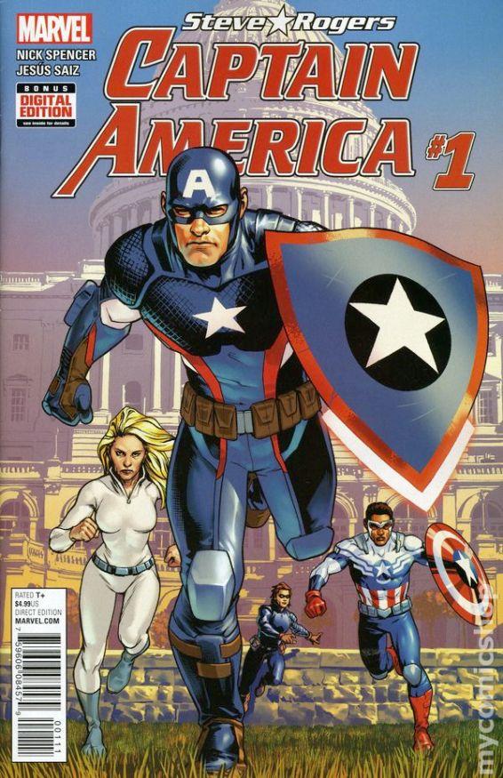 Captain America #1A