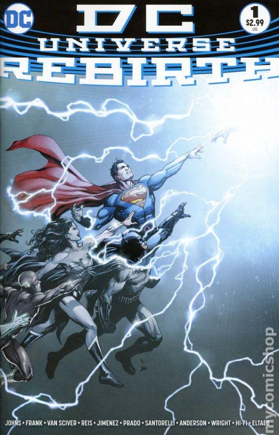 DC Universe Rebirth #1A