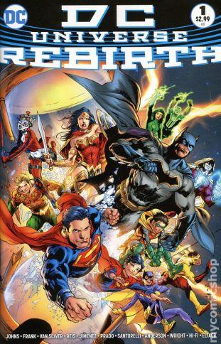 DC Universe Rebirth #1B