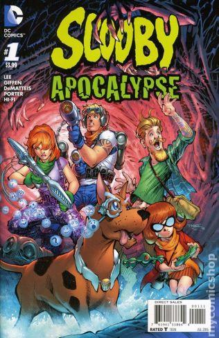 Scooby Apocalypse #1A