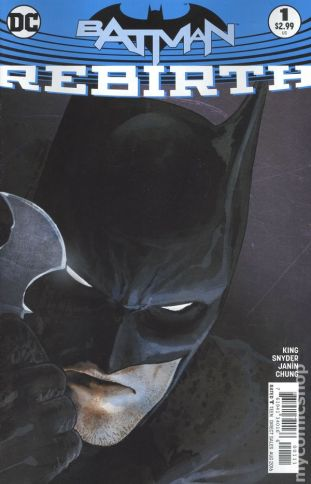 Batman REBIRTH #1A