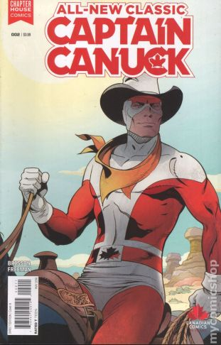 Captain Canuck #2A