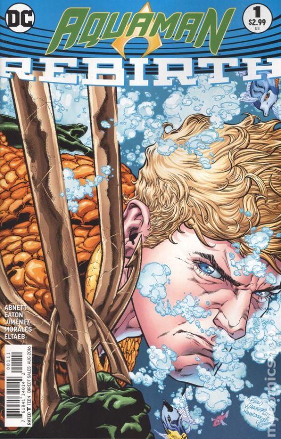 Aquaman REBIRTH #1A