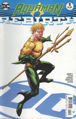 Aquaman REBIRTH #1B