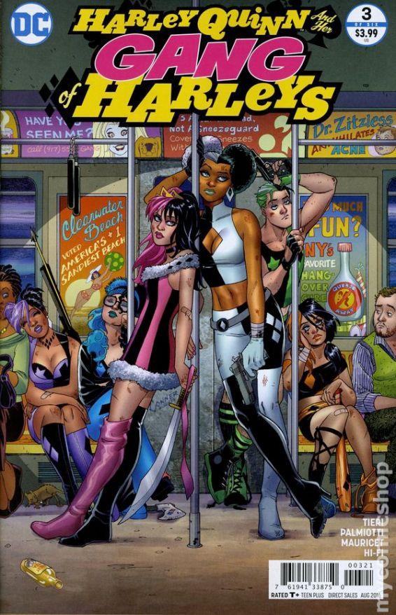 Harley Quinn and Her Gang of Harleys #3B