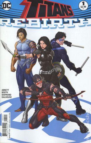 Titans: REBIRTH #1B