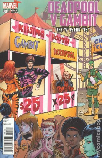 Deadpool Vs. Gambit #1B