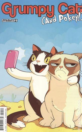 Grumpy Cat and Pokey #5B