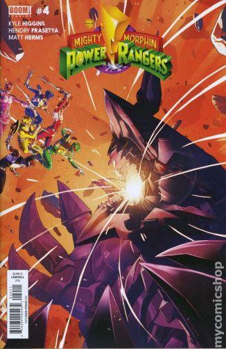 Power Rangers #4A
