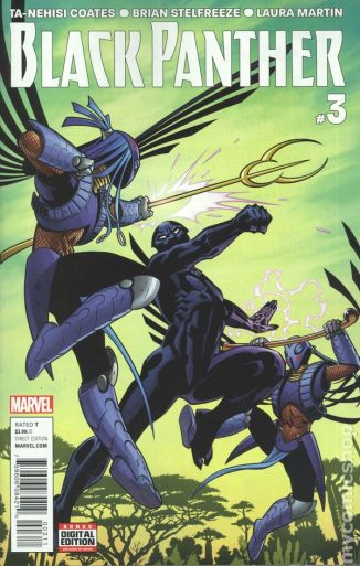 Black Panther #3A