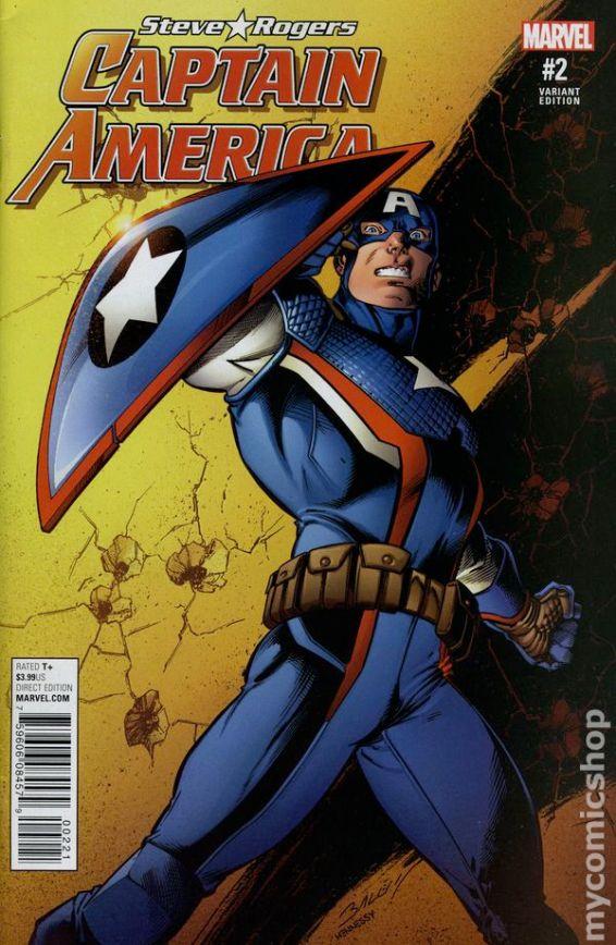 Captain America Steve Rogers #2B