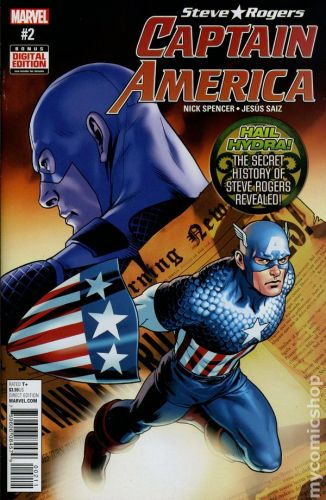 Captain America Steve Rogers #2A