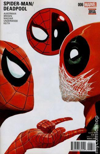 Spider-Man / Deadpool #6A