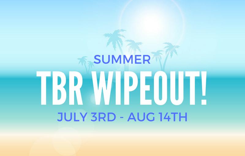 Summer TBR Wipeout2016!