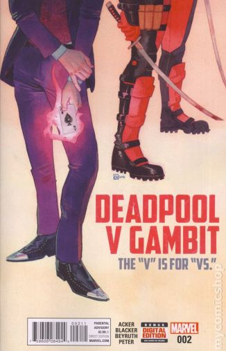 Deadpool Vs. Gambit #2A