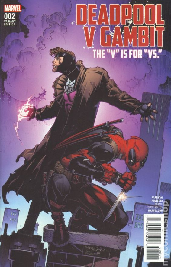 Deadpool Vs. Gambit #2B