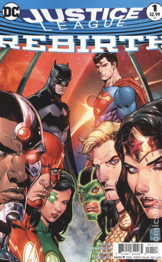 Justice League: REBIRTH #1A