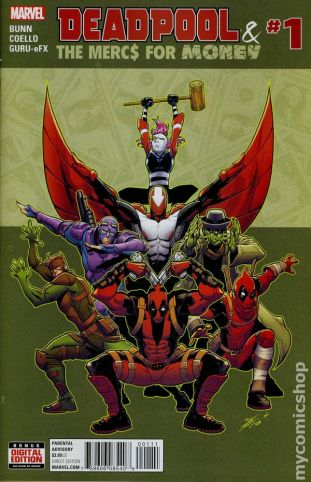 Deadpool Merc #1A