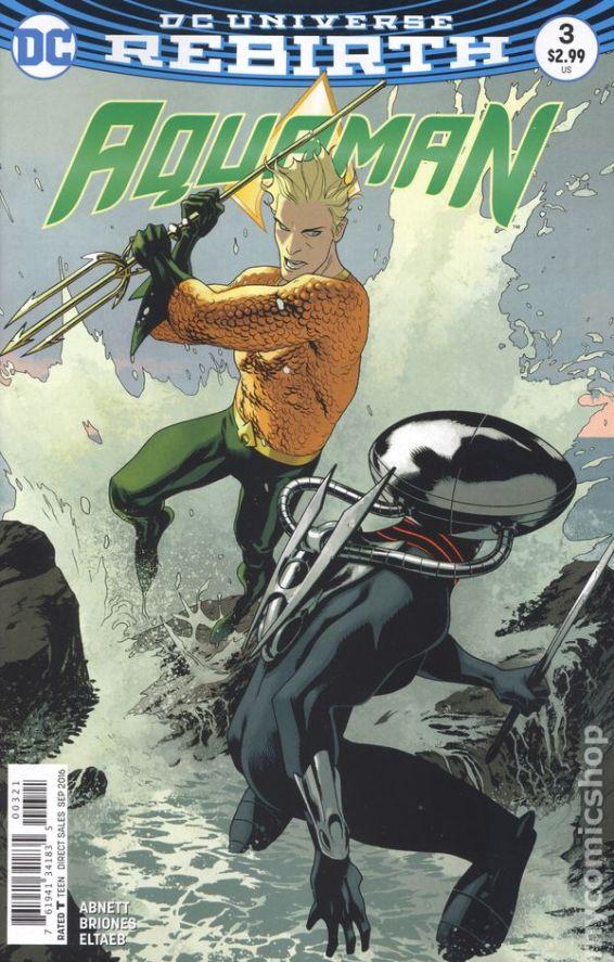 Aquaman #3B