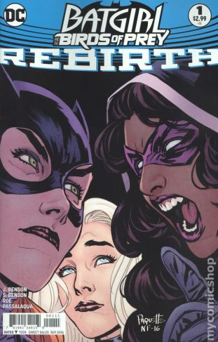 Batgirl and the Birds of Prey: REBIRTH #1A
