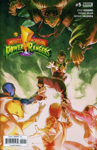 Power Rangers #5A