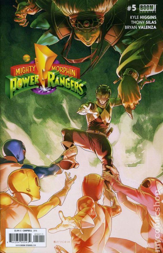 Power Rangers #5A
