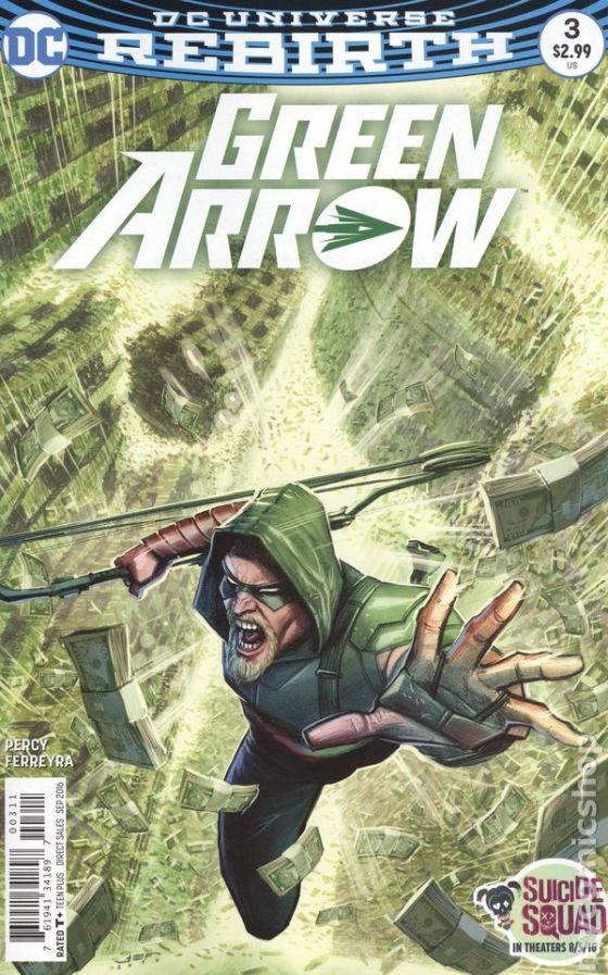 Green Arrow #3A