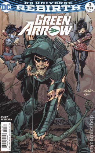 Green Arrow #3B