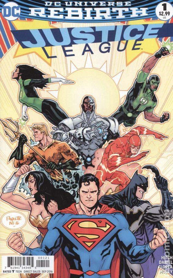 Justice League #1B