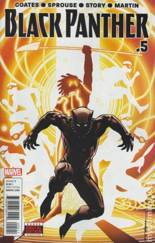 Black Panther #5A