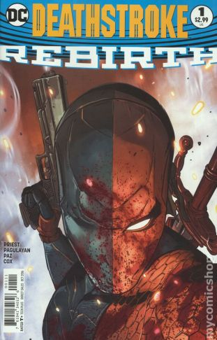 Deathstroke: REBIRTH #1A