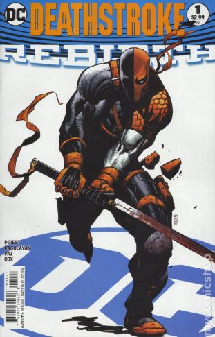 Deathstroke: REBIRTH #1B